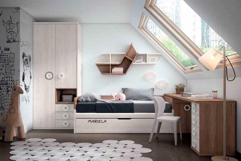 Dormitorio juvenil, 3