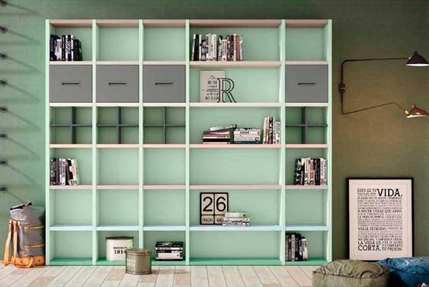 Librería estantería, 4