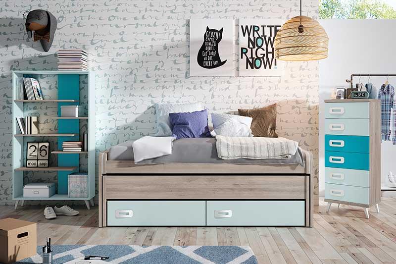 Dormitorio juvenil, 10j