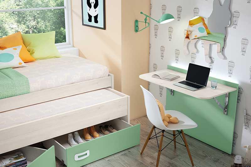 Dormitorio juvenil, 11j detalle