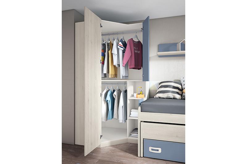 Dormitorio juvenil, 16j detalle